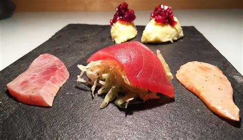cucinare il tonno rosso sashimi di tonno e salmone marinati al pompelmo e baccal 224