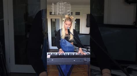 no one knows acoustic cover no one knows me like the piano sha reigns live