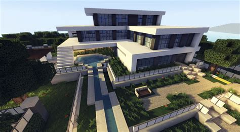 build a mansion minecraft how to build a modern house best modern house