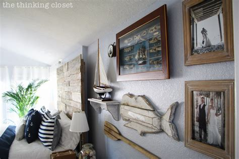 before after rustic nautical master bedroom makeover