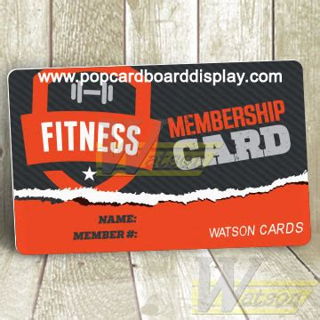 Gym Membership Gift Card - custom plastic membership cards for gym or club high quality cardboard dsplays oem odm
