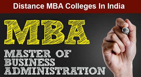 Top Universities For Distance Mba by Best Distance Learning Mba Colleges In India Master Search
