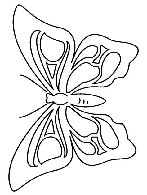 butterfly coloring page for kindergarten butterfly coloring page 2 preschool activity printables