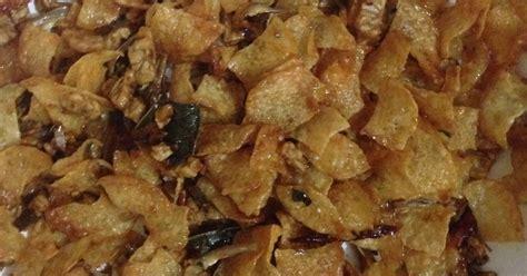 Wajan Goreng Kentang resep goreng kentang teri tempe pedas manis oleh dilla