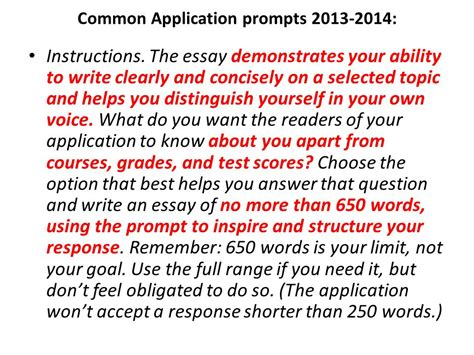 College Application Essay Questions 2013 common app essay questions 2013