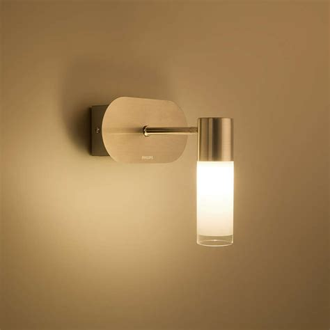 Philips 30921 11 66 Vera Led Bathroom Wall Surface Light Philips Led Bathroom Lights