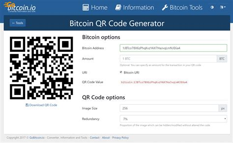 bitcoin qr code generator how to add a bitcoin donate button to your wordpress site