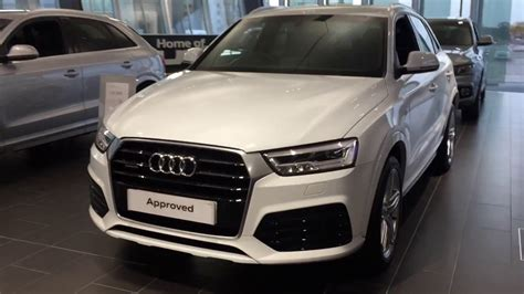 audi q3 interni 2017 audi q3 s line exterior and interior review