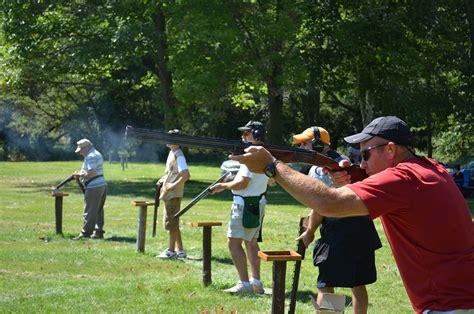 shooting on trap shooting