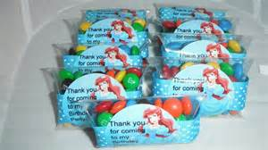 Ariel Favors by Ariel Mermaid Birthday Favors Via Etsy