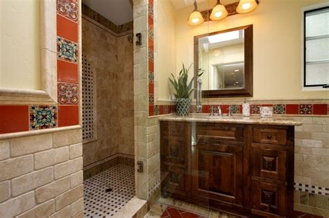 spanish tile bathroom ideas shower spanish bathroom pinterest
