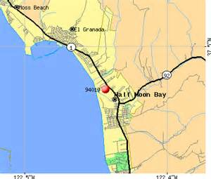 half moon bay california map 94019 zip code half moon bay california profile homes