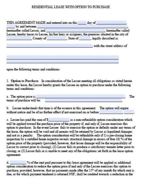 free printable lease agreement georgia free georgia residential lease agreement pdf word doc