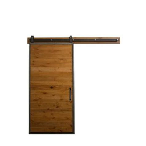 barn door home depot rustica hardware 42 in x 84 in mountain modern clear
