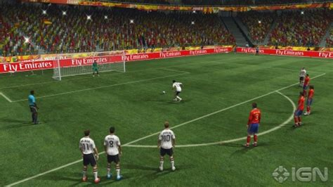 south africa fifa world cup 2010 game 2010 fifa world cup south africa new features revealed ign