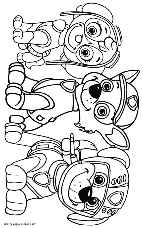 coloring pages for paw patrol clever design paw patrol free coloring pages artsybarksy