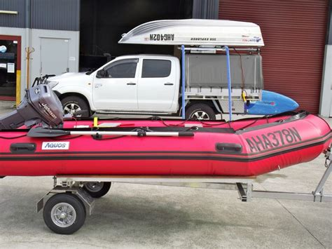 folding boat trailer inflatable folding trailer collapsible trailer for sale