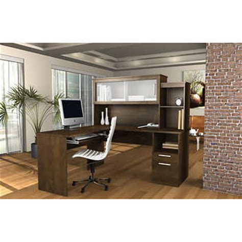 Sutton L Shaped Desk Sutton L Shape Desk With Hutch
