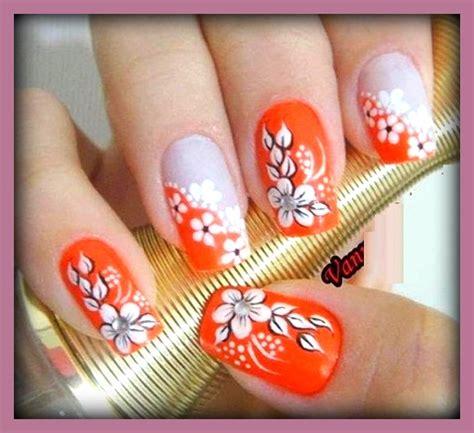 imagenes variadas de uñas decoradas imagenes de u 241 as decoradas con dise 241 os de flores