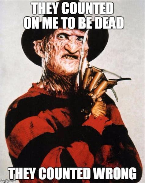 Freddy Krueger Meme - freddy krueger silence imgflip