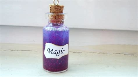 diy magic in a bottle charm tutorial
