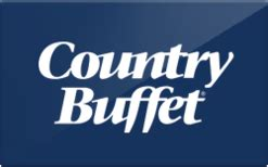 Old Country Buffet Gift Card - buy country buffet gift cards raise