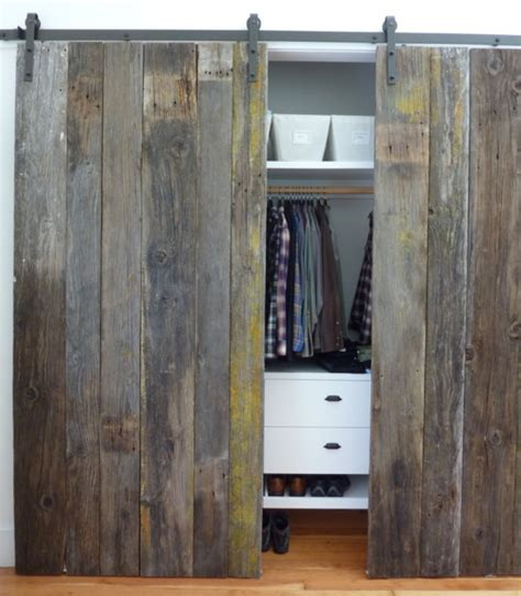 Alternative To Sliding Closet Doors What To Do With My Closet Doors Littlehousebigplans