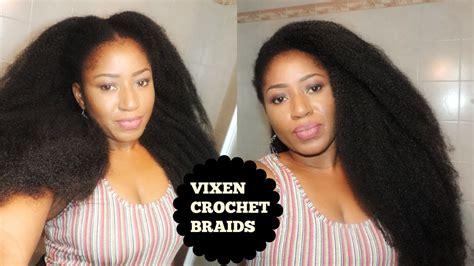 short 4c crochet braids diy vixen crochets braid on short 4c hair with marley