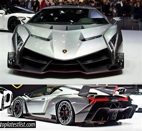How Fast Is The Fastest Lamborghini List Of Most Expensive Fastest Cars In The World 2017