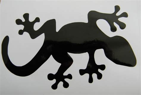 lizard gecko vinyl decal sticker choose your color and