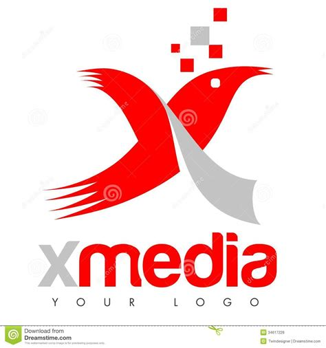 Financial Institution Welcome Letter x logo royalty free stock photos image 34617228