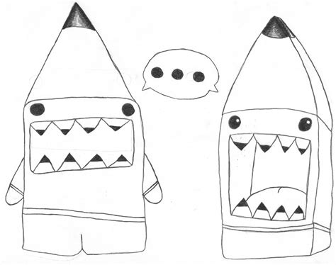 how to draw doodle domo pencil domo confrontation by chibidomo on deviantart
