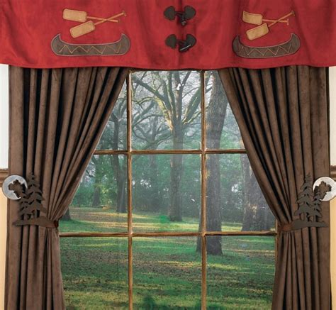 Log Cabin Curtains Log Cabin Curtains Millsboro Log Cabin Block Lined Curtain Valance Log Cabin Curtains