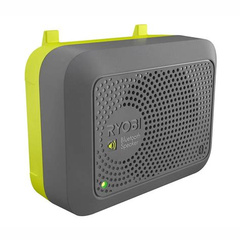 ryobi bluetooth speaker accessory gdm120 the home depot