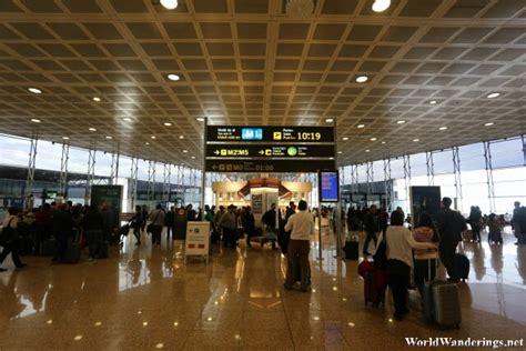 barcelona departures barcelona airport terminal 2