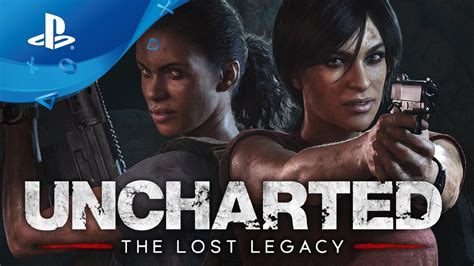 Kaset Ps4 Uncharted The Lost Legacy uncharted the lost legacy release date trailer ps4
