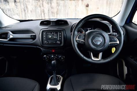 jeep renegade dashboard 2016 jeep renegade longitude review performancedrive