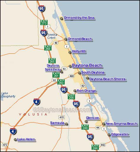 i 95 map i 95 daytona traffic maps and road conditions