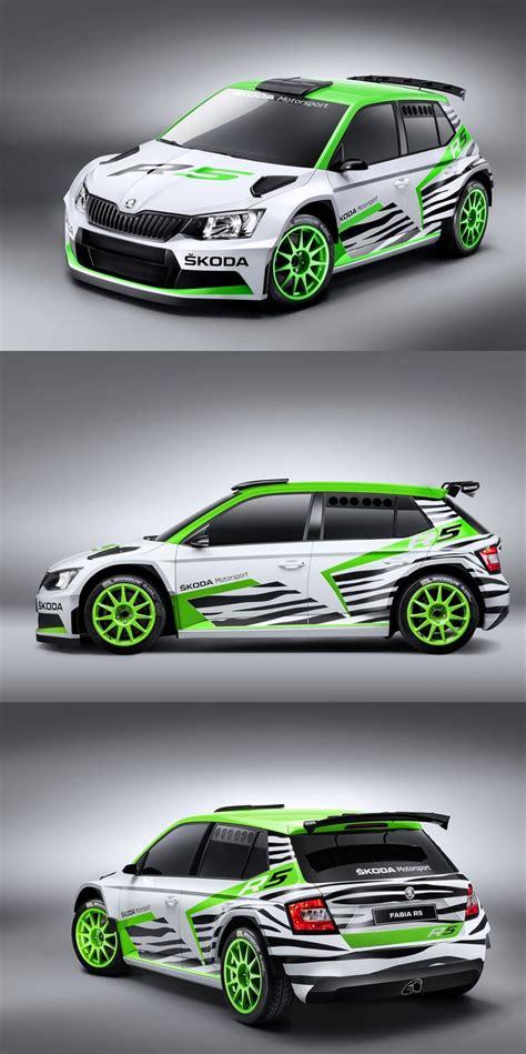 Rally Aufkleber Auto by Skoda Fabia R5 Rally Livery Racing Car Liveries