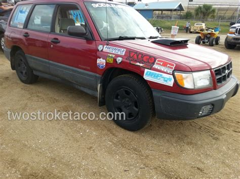 subaru forester rally subaru forester rally cross 187 two stroke taco