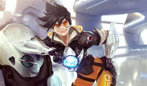 official overwatch 2018 wall 1465091300 overwatch tracer fanart by benlo on