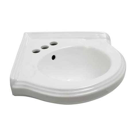 Corner Wall Mount Sinks Bathroom - corner wall mount small bathroom sink white ceramic