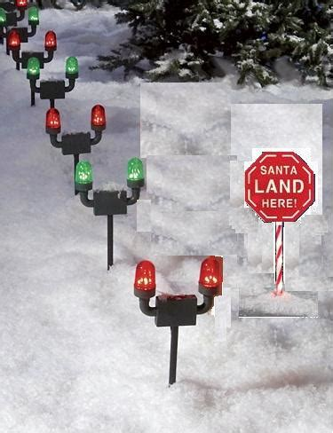 santa landing strip lights top 28 santa landing lights light up outdoor santa landing zone runway