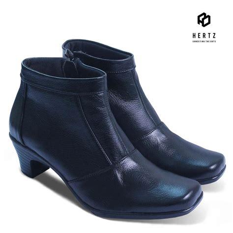 Sepatu Merk Dg azkashoes sepatu boot dg hitam indonesia