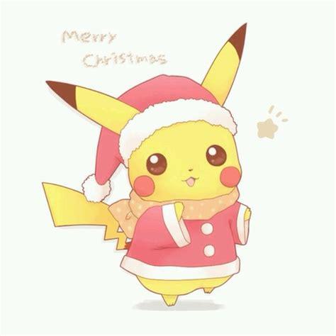 imagenes de navidad kawai merry christmas pikachu pictures photos and images for