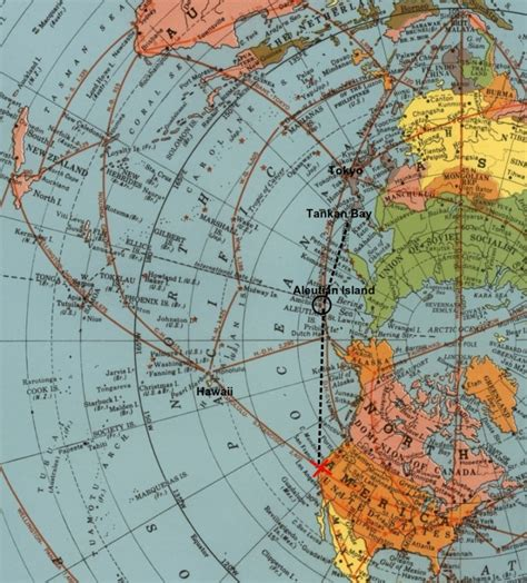 world map 1945 azimuthal equidistant air map of 1945 proves flat earth