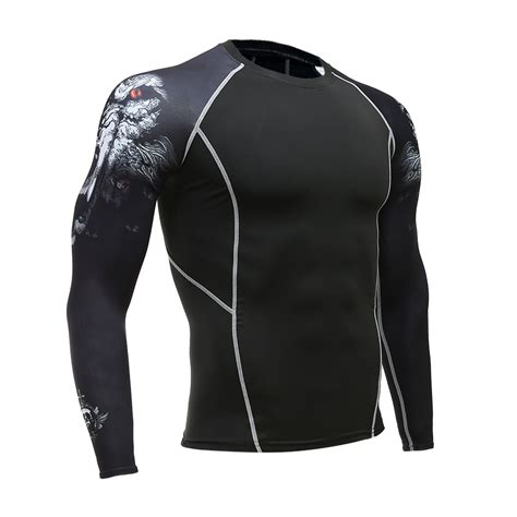 T Shirt Kaos Supehero Topgear The Flash 2 mens fitness sleeves rashguard t shirt bodybuilding skin tight thermal compression
