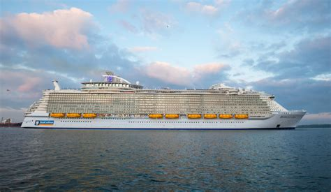 harmony of the seas royal caribbean s harmony of the seas pre inaugural sailing