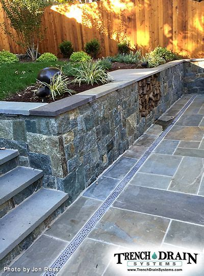 Drainage Channels For Patios by 25 Best Ideas About Drainage Grates On