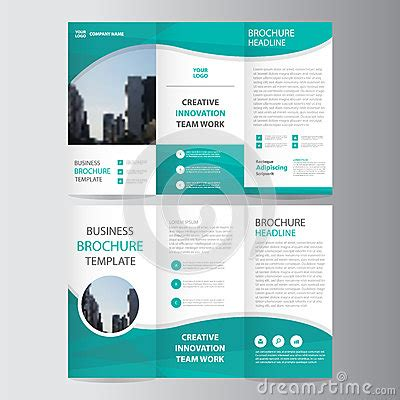 abstract blue low polygon leaflet brochure flyer template abstract green polygon trifold leaflet brochure flyer